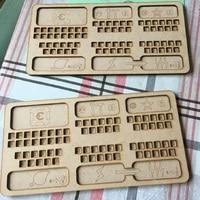Terraforming Mars Card Game Storage Box Organizer for Wooden Receiving Compact Wooden Case The Broken Token Box Stand Size