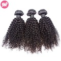 3 Pcs Lote Virgens Mongolian Kinky Curly Cabelo Weave 8-28 Polegada Mongol Feixes de Cabelo Encaracolado 7A Barato Afro Cabelo Humano Cacheados crespo