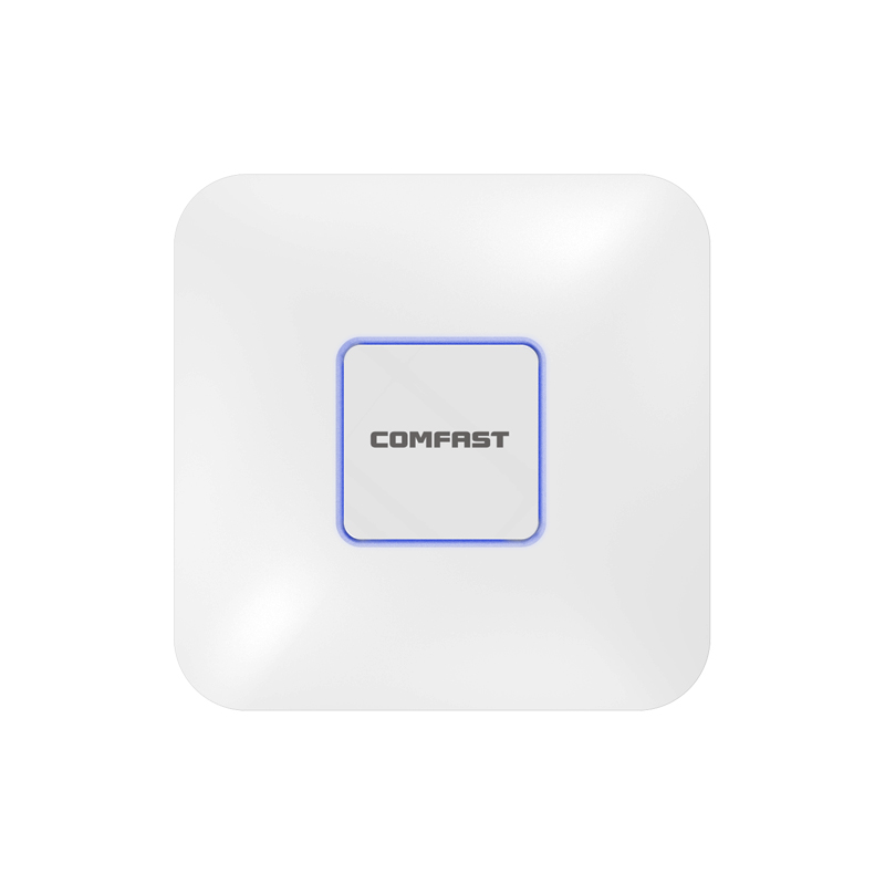 2.4Ghz+5.8G 1200Mbps High Power Wifi Router Indoor Ceiling AP Wifi Signal Booster WIFI Expander  Repeater RJ45 Wifi PoE Adater comfast wireless indoor ap 1200mbps gigabit ceiling ap 802 11ac wifi signal booster wifi expander wi fi routers rj45 poe adapter