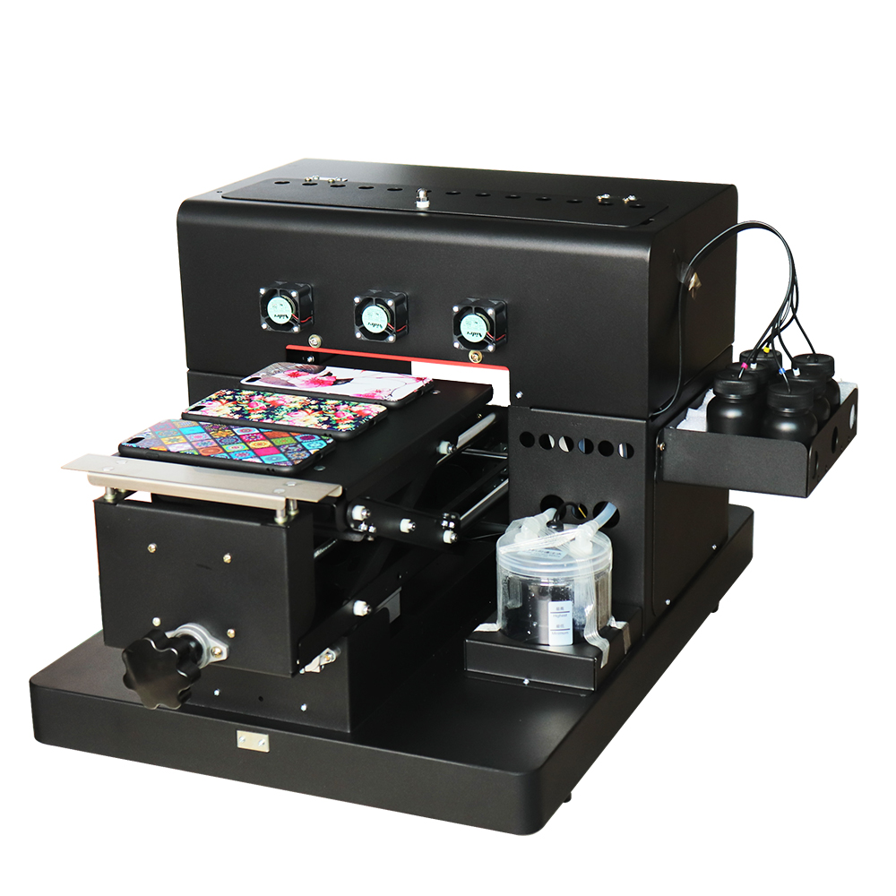A4 Small size UV LED Flatbed Printer Inkjet Printers With 1 set of - Office Electronics - Photo 2