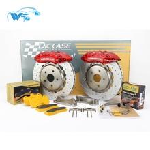 KOKO Racing Модифицированная Автомобильная тормозная система, тормозная колодка с большим ободом 18 колес WT9040 для Audi A6 для Mercedes W220 спереди