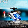 Mais novo Brushless 6CH RC Helicóptero V966 V977 WLtoys Star Power X1 6G/Construir em 6A-xis Gyro Flybarless 3D VS V922 V933