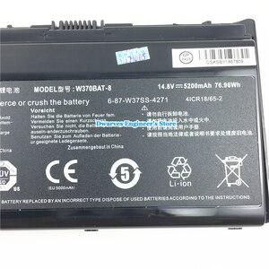 Image 4 - מקורי ליתיום סוללה עבור CLEVO W370BAT 8 6 87 W370S 4271 6 87 W37SS 427 K590S מחשב נייד סוללה 14.8V 5200mAh 76.96Wh