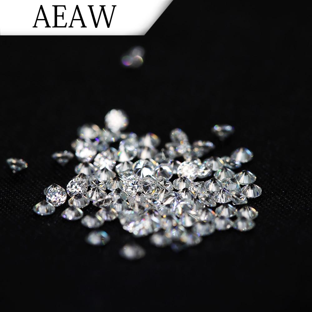 AEAW 2.5mm Total 1 CTW carat  DF Color Certified Moissanite Diamond Loose Bead Test Positive Similar to Forever OneAEAW 2.5mm Total 1 CTW carat  DF Color Certified Moissanite Diamond Loose Bead Test Positive Similar to Forever One