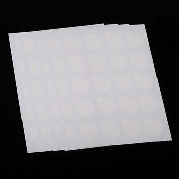 100 Uds soporte de pegamento para pestañas desechable paleta extensión de pestañas papel adhesivo almohadillas soporte en parches de pestañas soporte de pegamento paleta