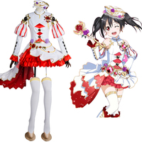 LoveLive! Love Live Niko Nico Yazawa Birthstone Set Nico Dress Cosplay Costume Halloween Carnival Costumes full set