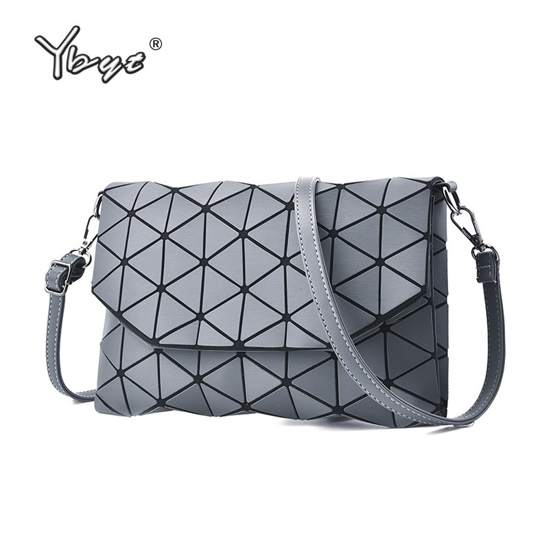 YBYT brand 2018 new simple fashion diamond lattice women handbags glossy ladies coin purses shoulder messenger crossbody bags клатч brand new messenger wlhb2094 16