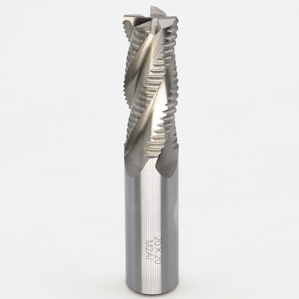 New 4flute M2AI dia 20mm end milling cutter machine tool Roughing cutter CNC tools  Super-hard high speed steel 4F20*20*50*110mm  цены