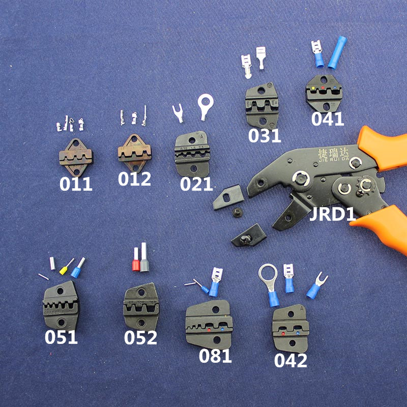 JRD1Series Jaw Supporting Tools For Hand Crimping Tool Replaceable Jaw For Dupont XH2 54 KF2510 SM