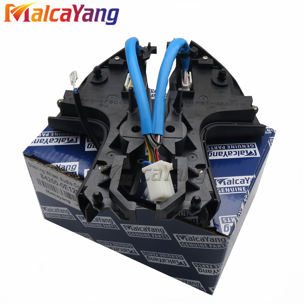84250-0E220 84250-0E120 Auto Steering Audio Control Tombol Switch - Suku cadang mobil - Foto 3
