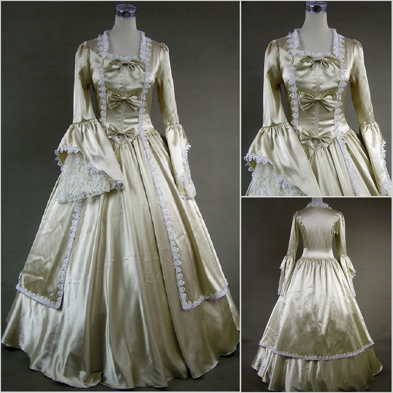 Libre pp robe médiévale Costumes pour femmes adulte sud victorien robe robe de bal gothique Lolita robe grande taille sur mesure