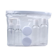 GRACEFUL New Portable Transparent white Travel Cosmetic Bottle Points Bottling Six Sets FREE SHIPPING JUL27