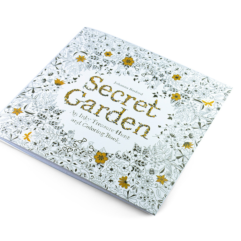 100PCS LOT English Edition Secret Garden Fantasy Dream Animal Kingdom Coloring Book Adults Colouring Each 24 Pages In Books From Office School