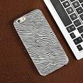 FLOVEME Мода Зебра Случаи Телефона Для iPhone 6 6 S Ультра тонкий Акрил Жесткий Противоударный Обложка Для Apple 6 6 С Shell