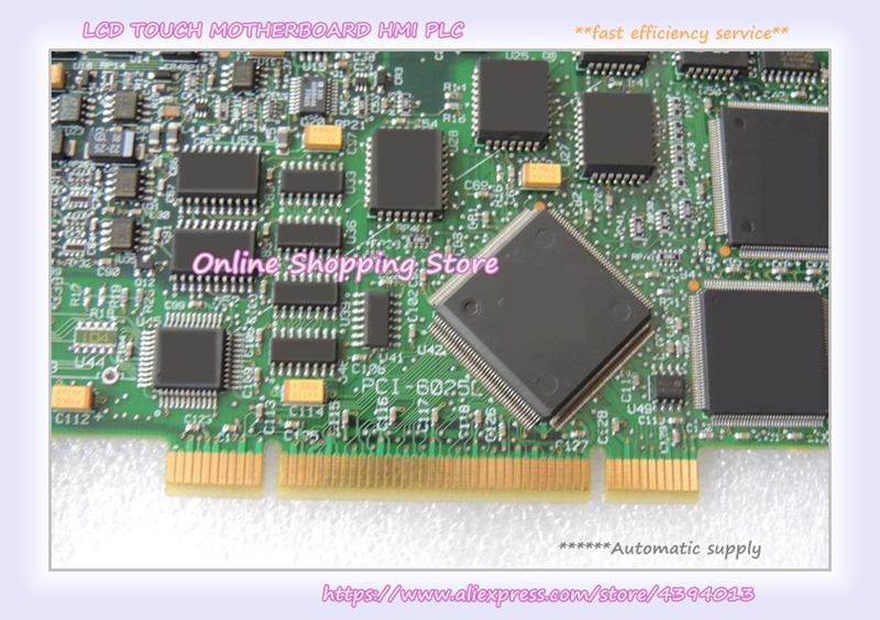 PCI-6025E industrial motherboard 100% tested perfect quality industrial motherboard base plate cbp 14p4 10 ias 4 pci adv an tech