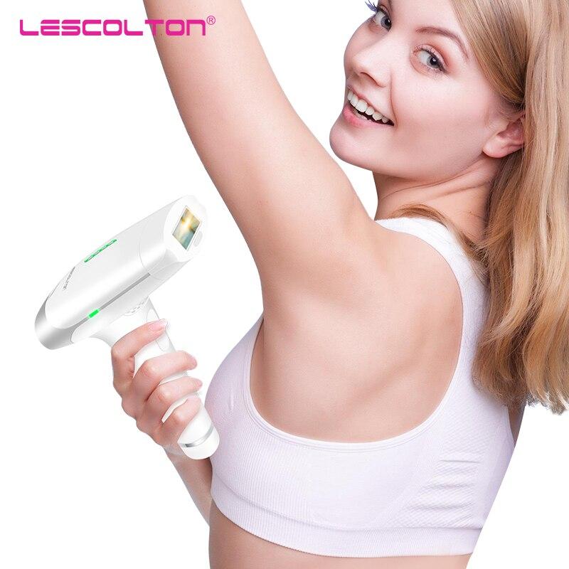 Lescolton T009 Laser Epilator Permanent Hair Remover IPL Laser Hair Removal Instrument 300000 Pulse Underarm Hair Removal Bikini hair bikini ipl laser permanent hair removal device epilator 300000 pulse flash removal acne body hair removal device