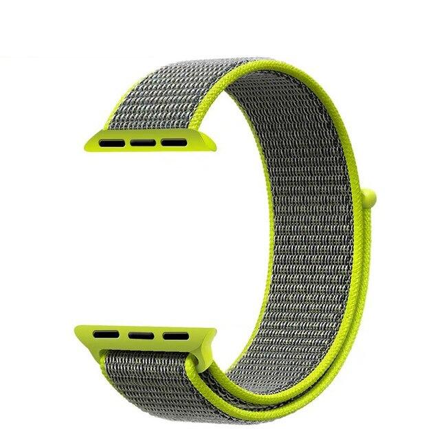 Sport Loop strap For Apple Watch band 4 3 iwatch band 44mm 40mm correa apple watch 4 Velcro bracelet watch 42mm 38mm Accessorie   Fotoflaco.net