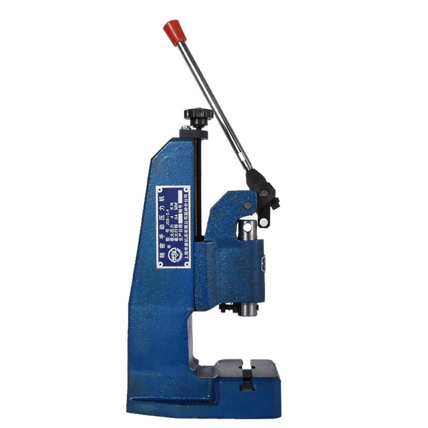 J03-04A precision manual press / hand pull punch,Maximum clamping height 175mm,Nominal pressure 4KN Manual Punching MachineJ03-04A precision manual press / hand pull punch,Maximum clamping height 175mm,Nominal pressure 4KN Manual Punching Machine