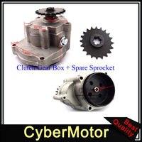 T8F 20 Tooth Sprocket Gear Box For 2 Stroke 33cc 43cc 49cc Engine Parts Ty Rod II Go Kart Mini Bike Go Ped Scooter Xtreme