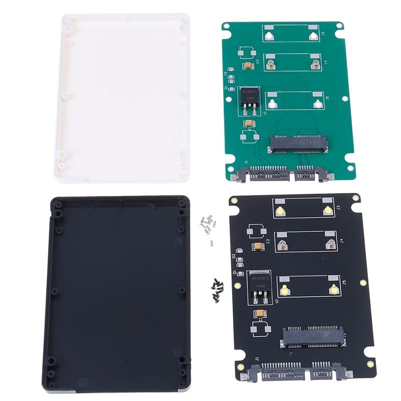Mini Pcie mSata to Sata mSATA SSD To 2.5 inch SATA3 Adapter Card