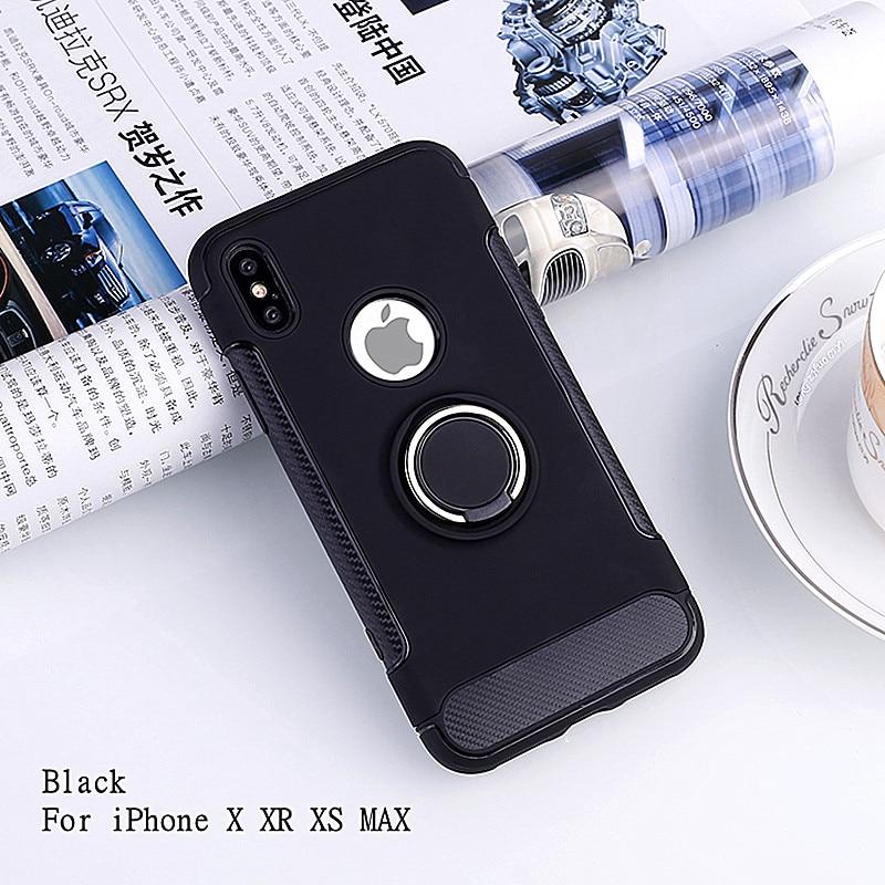 HTB1u0Kld8Gw3KVjSZFwq6zQ2FXaJ LSDI for iphone 11 pro max Case for iphone 6 6s 7 8 plus 5 5s se Armor TPU+PC logo hole design Cover for x xr xs max