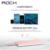 Rock refrigerante universal banco do poder 10000 mah 5 v 2.4a li-polímero bateria externa powerbank carregador portátil para o iphone, samsung, xiaomi
