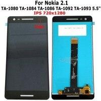 """1 5 lcd Shyueda IPS Orig 5.5"""" For Nokia 2.1 TA-1080 TA-1084 TA-1086 TA-1092 TA-1093 LCD Display Touch Screen Digitizer + Free Tools (1)"""