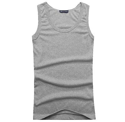 81631c362cc65e Muscle Men Top Quality 100% Premium Cotton A Shirt Wife Beater Ribbed Tank  Top -in Tank Tops from Men s Clothing on Aliexpress.com