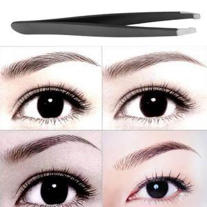 Image 2 - 1 pièces pince à sourcils en acier inoxydable visage épilation yeux sourcils tondeuse cils pince cosmétique beauté maquillage outil