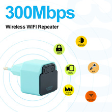 Wireless WIFI 300Mbps Repeater With US/EU Plug 2.4Ghz WI-FI Router 802.11N Signal Booster WIFI Range Extender Amplifier Repeater 300mbps wireless networking signal amplifier wi fi repeater w wps function white eu plug
