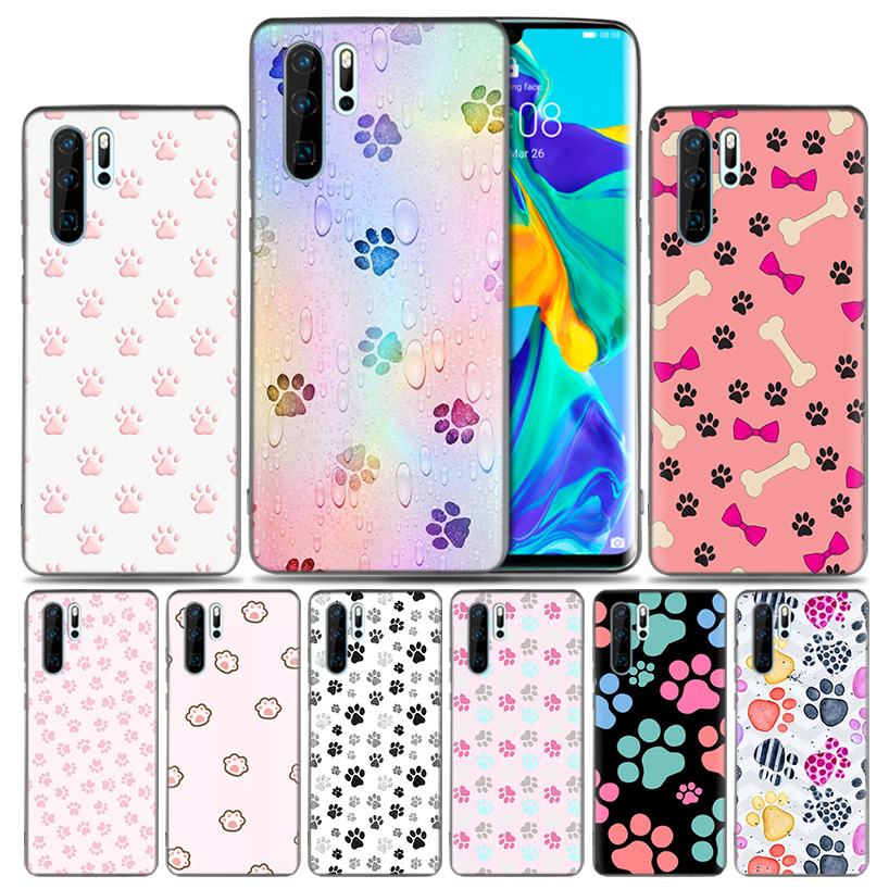 Lavaza Space Love Moon Astronaut Cat Phone Case For Huawei Y6 Y7 Prime Y5 Y9 2018 2017 Honor Play 10 8c 8x 8 9 Lite 7c 7x 7a Pro Half-wrapped Case
