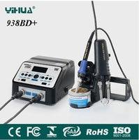 YIHUA 938D Desoldering Tweezers Soldering Station Digital Display Anti Static Electric Welding Machine
