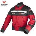 Inverno DUHAN Motocicleta Off-road Racing Jaqueta de Moto À Prova de Vento Jaqueta de Andar de Moto de Proteção Protetor Do Corpo