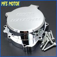 Freeshipping Motorcycle Left side Engine Stator cover For Honda CBR600RR 2003 2004 2005 2006 CHROME