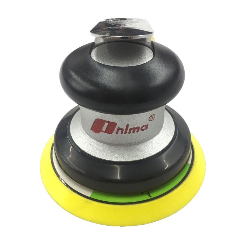 Ferramentas pneumáticas máquina de polimento pneumático 5 Polegada redonda lixadeira pneumática lixa moedor orbital aleatório