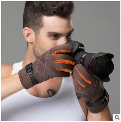 Glv811 New men winter font b gloves b font driving cycling outdoors antiskid thickening warm font