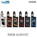 100% original smok kit com 3 ml tanque do bebê tfv8 alienígena kit alienígena 220 w caixa mod vape cigarro eletrônico
