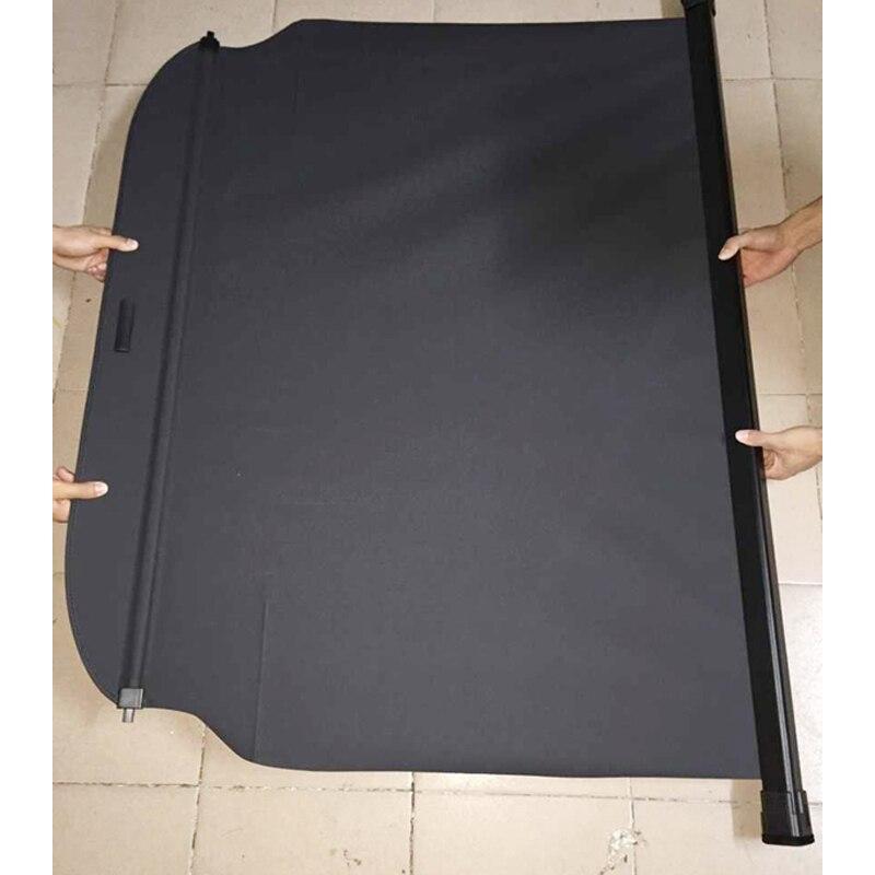For Hyundai Santa Fe XL 7 Seat Rear Trunk Shade Cargo Cover Black 2013 2014 2015