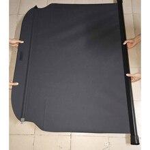 Для Hyundai Santa Fe LWB/XL 7 Сиденья Задний Багажник Оттенок Шторки Черный 2013 2014 2015