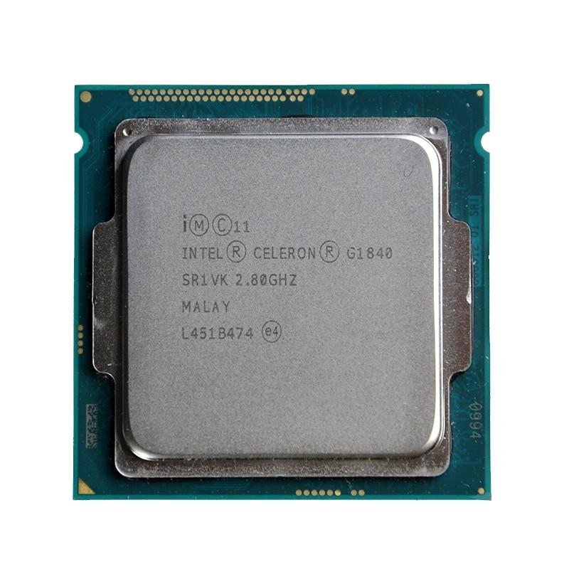 Intel Celeron G1840 2.8 ГГц 2 м Кэш двухъядерный Процессор процессор sr1vk sr1rr LGA1150 лоток