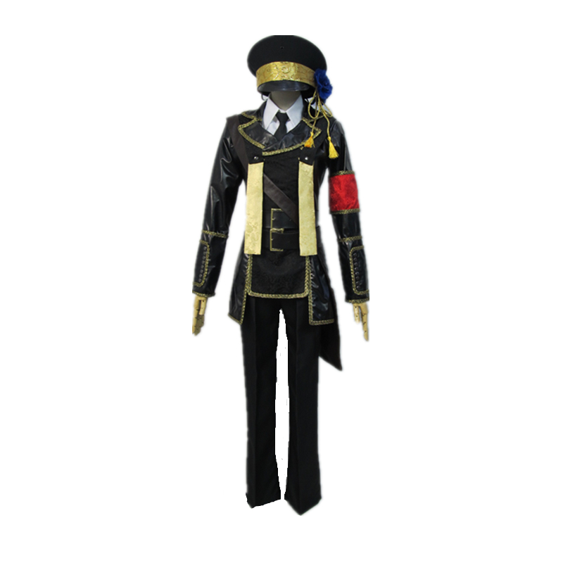 Anime Vocaloid Arrest Rose Kagamine brother  Cosplay Costume