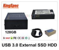 Kingspec USB 3.0 External Solid State Drives Hard Drive 128GB HDD SSD 4-Channel Move Flashes Drived Storage Dropshipping