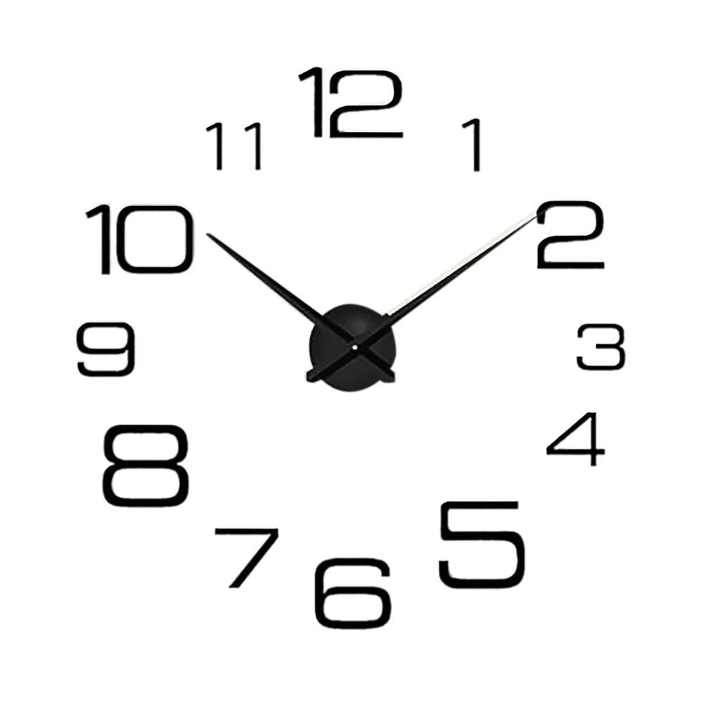 Quartz Clock Movement Mechanism Fashion Acrylic DIY 3d Wall Clock Mirror Wall Clock Home Decoration K330