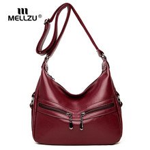 hot deal buy mellzu female luxury shoulder bags high quality fashion lady retro satchel tote bags women messenger bags crossbody bags