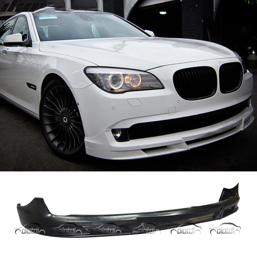 Express Shipping For ALPINA Style Car Styling PU Material Front Lip Bumper Spoiler For BMW 7 Series F01 F02