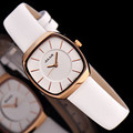 Julius mulheres relógio de pulso de quartzo horas melhor vestido moda coréia simples amantes de couro JA669