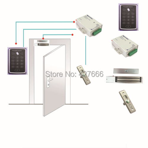 ФОТО DIY Access Control Kit keypad and ID card Door Access Control
