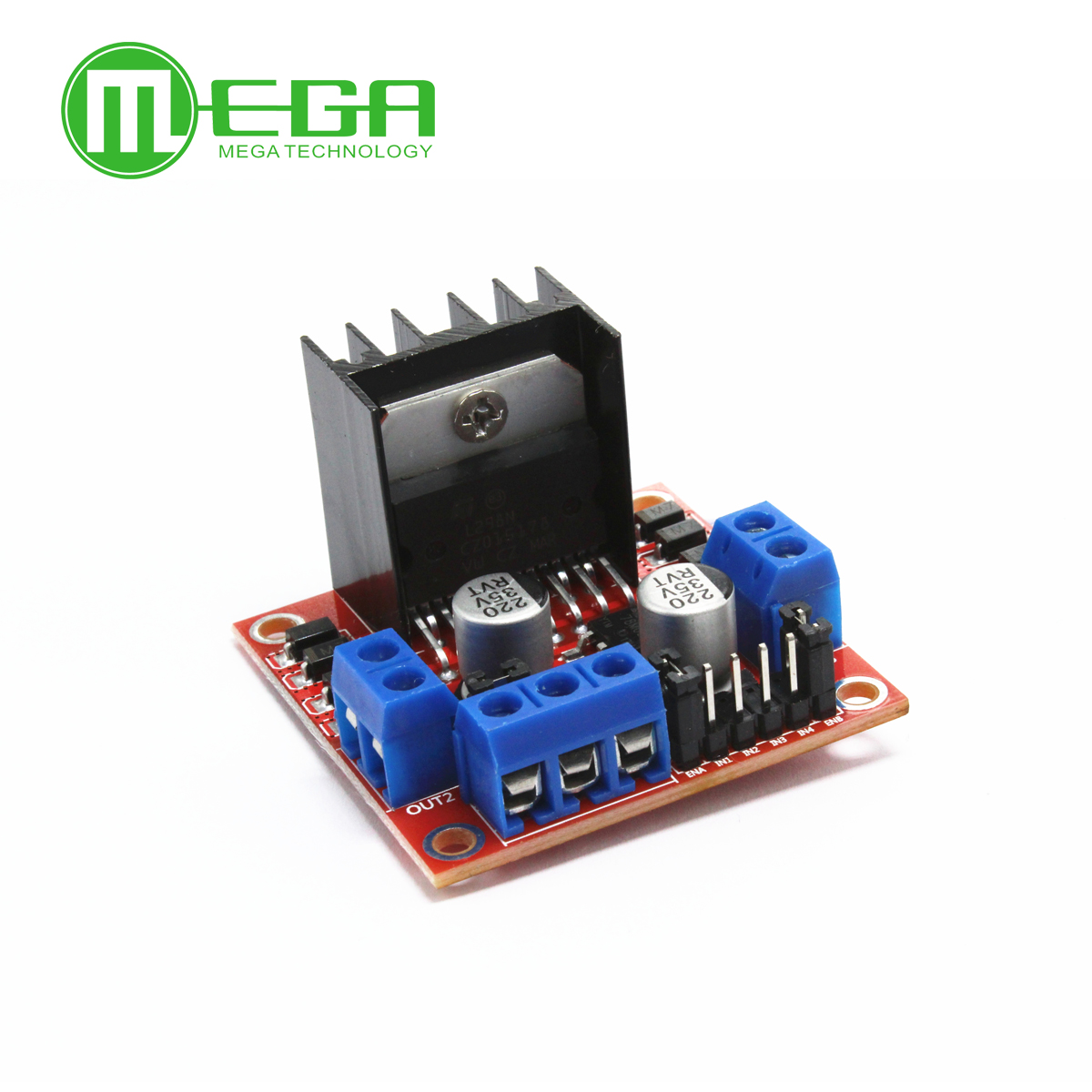 1pcs Lot New Dual H Bridge Dc Stepper Motor Drive Controller Circuit Diagram Board Module L298n For Ar Duino Integrated Circuits