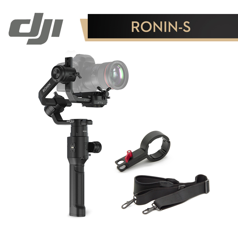 DJI Ronin S Superior 3 Axis Stabilization Automated SmartShooting Working 12 Hours One Time Fast moving Shooting Handheld Gimbal