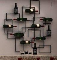 Кованая Железная винная рамка. Вешалка для красного вина